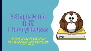 guide to literary devices